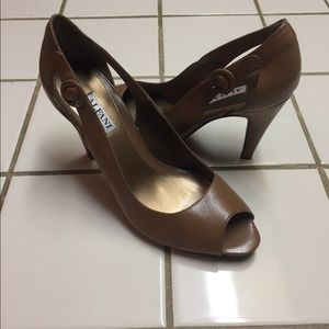 Shoes - Dark beige Heels  never worn